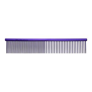 7 1/2 INCH FINE/COARSE COMB - PURPLE