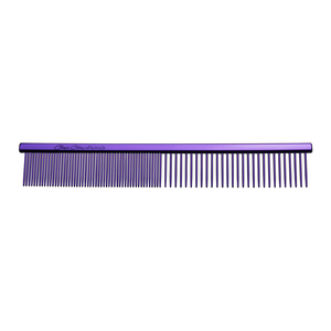 5 INCH FACE & FEET FINE/COARSE COMB - PURPLE